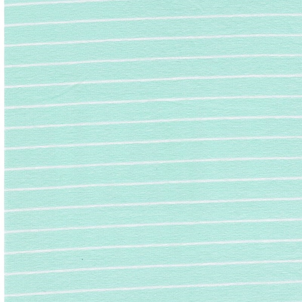 STRIPED SLEEK Jersey mint