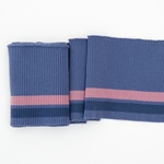 CLYDE College-Bündchen 100 x13cm jeansbl