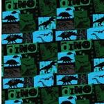 BW-Jersey Dino grün türkis