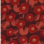 POPPY Webware orangerot bordeaux