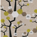 TAYOTOU Canvas abstrahierte Bäume natur
