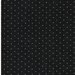 COTTON CHAMBRAY DOTS black