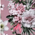 MATTI Jersey Blumenbouquets rosa