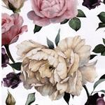 MATTI Jersey große Rosen weiß