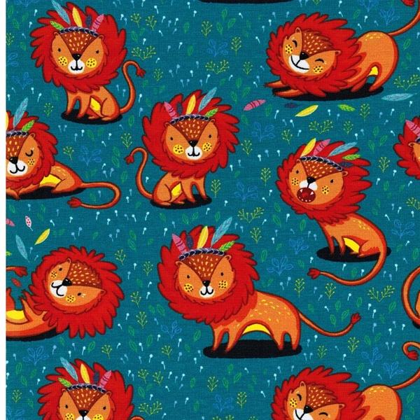 BW-Jersey Löwen petrol orange