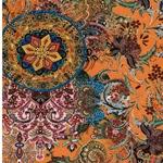 MANDALA Viskosejersey indisches Muster