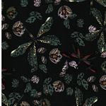 DRAGONFLY COLOR Viskose Libellen grün
