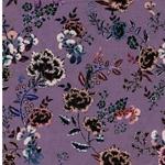 POSY Viskose Blumen lavendel