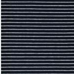 CAMPAN Jersey Streifen dunkelblau grau