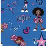 CHEER GIRLS Jersey Cheerleaders blau