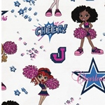 CHEER GIRLS Jersey Cheerleaders vanille