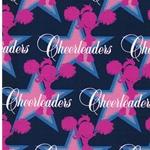 CHEER STARS Jersey Sterne dunkelblau