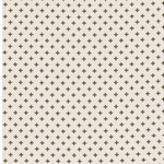 CRUZ French Terry Kreuze beige braun