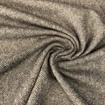 MASSIMO Tweed Fischgrat braun creme