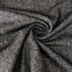 MASSIMO Tweed Fischgrat schwarz creme