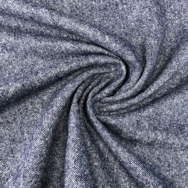 MASSIMO Tweed Salz&Pfeffer blau creme