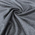 MASSIMO Tweed Fischgrat blau schwarz