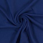 ANDREAS Doubleface Struktur-Sweat blau
