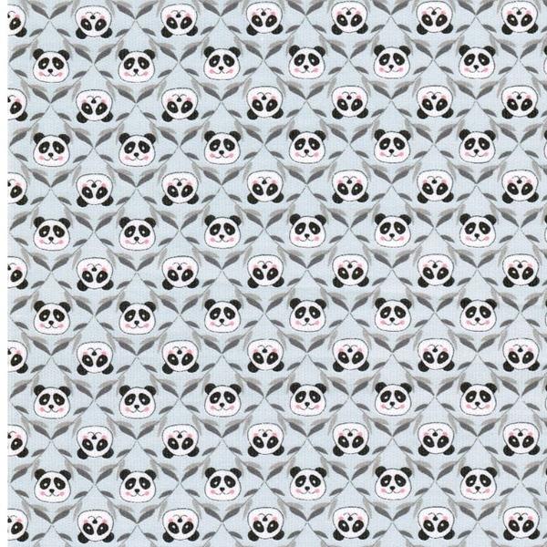 CORDUROY PANDA Feincord hellblau