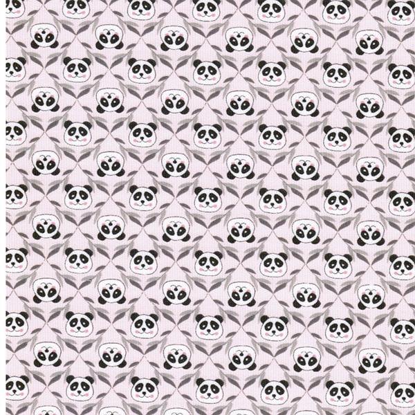 CORDUROY PANDA Feincord rosa