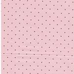 DOTS Feincord Pünktchen rosa braun