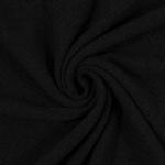 RENATA Strickstoff Wolle schwarz