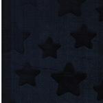 ESTELLE Flausch Sterne dunkelblau