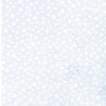 PUNTRITOS Flauschstoff hellblau weiß
