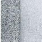 SNOW Flauschstoff weiß grau