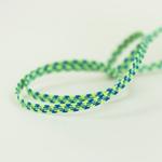 Gummiband 6 mm neongrün blau