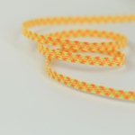 Gummiband 6 mm neongelb orange
