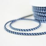 elastische Kordel mehrfarbig blau