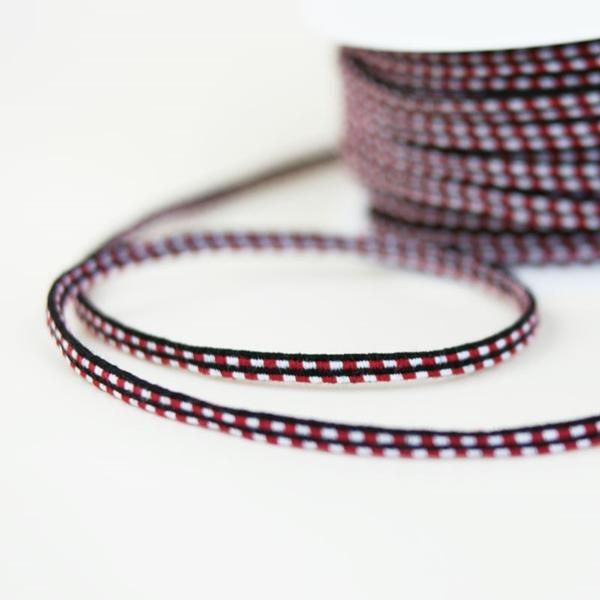 elastische Kordel mehrfarbig bordeaux