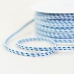 elastische Kordel mehrfarbig hellblau