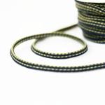 elastische Kordel mehrfarbig khaki