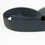 Gummiband 25 mm schwarz