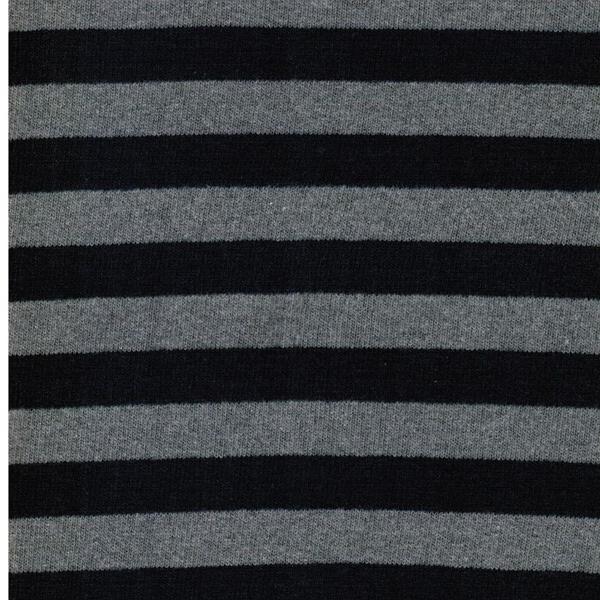 LENN Feinstrick dunkelblau grau meliert