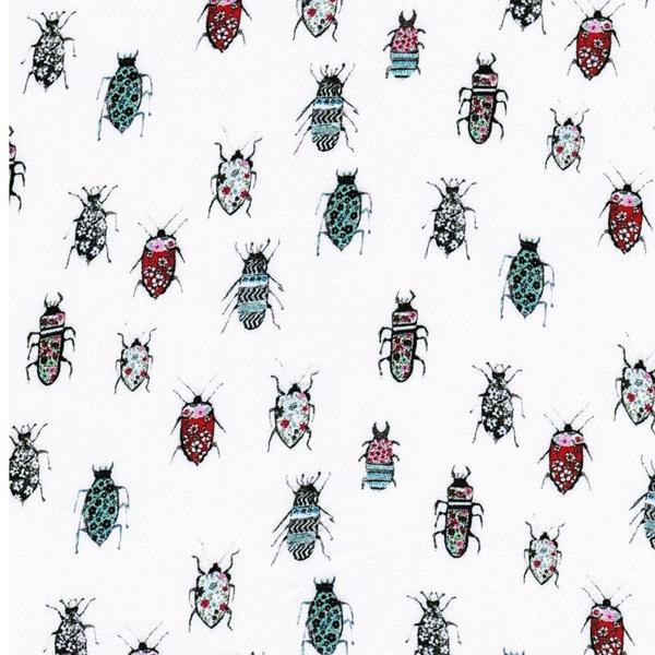 KATE Viskose Käfer weiß bunt