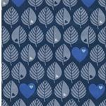 byGraziela BLÄTTER Softshell blau