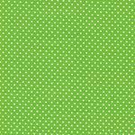 JUDITH Pünktchen hellgrün weiß