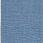 STREIFEN Double Gauze blau weiß