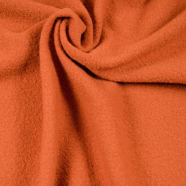 LEICHT-WALKER Wollstoff orange