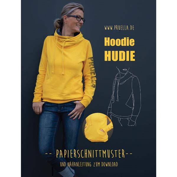 Prülla Papierschnittmuster Hoodie HUDIE