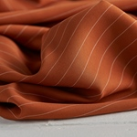 TENCEL PIN STRIPE TWILL spice