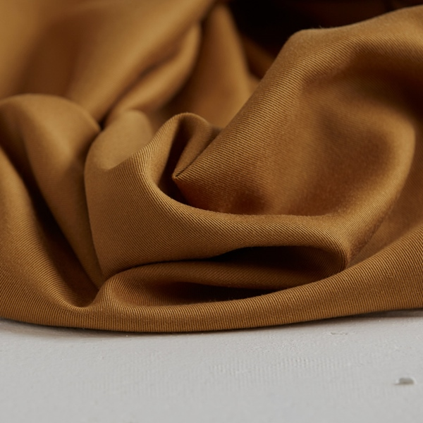 TENCEL TWILL heavy mustard