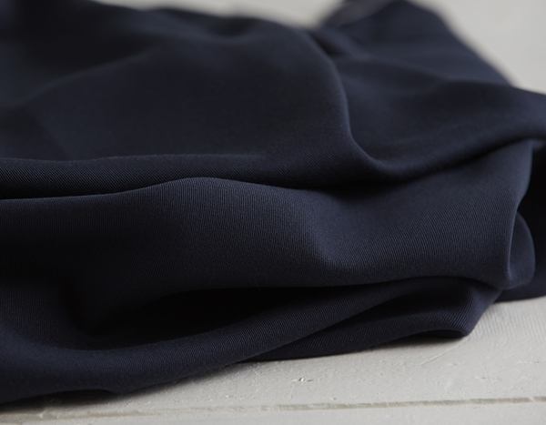 TENCEL SANDED TWILL blueberry