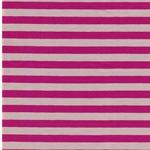 ISA Jersey Streifen 1 cm  pink beige