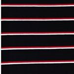 CADAC Jersey Streifen nachtblau rot weiß