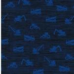BUILDING Jersey Baufahrzeuge dunkelblau