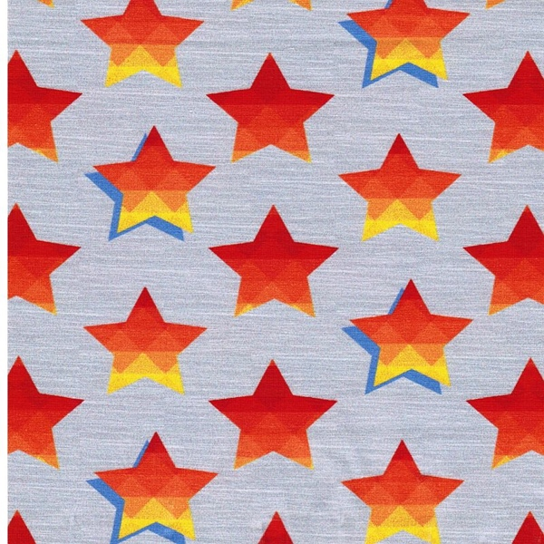STARS & STRIPES Jersey Sterne grau
